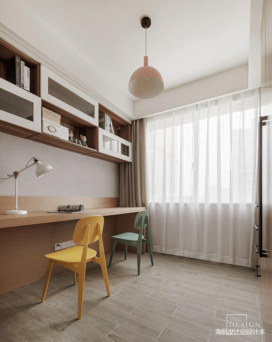 北欧风书房书柜设计