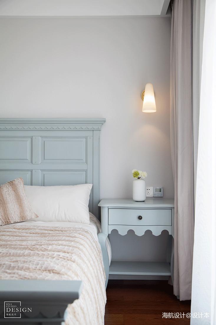 热门106平米三居卧室美式效果图片欣赏