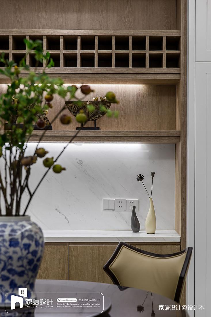 精选124平米四居餐厅中式装修设计效果图片