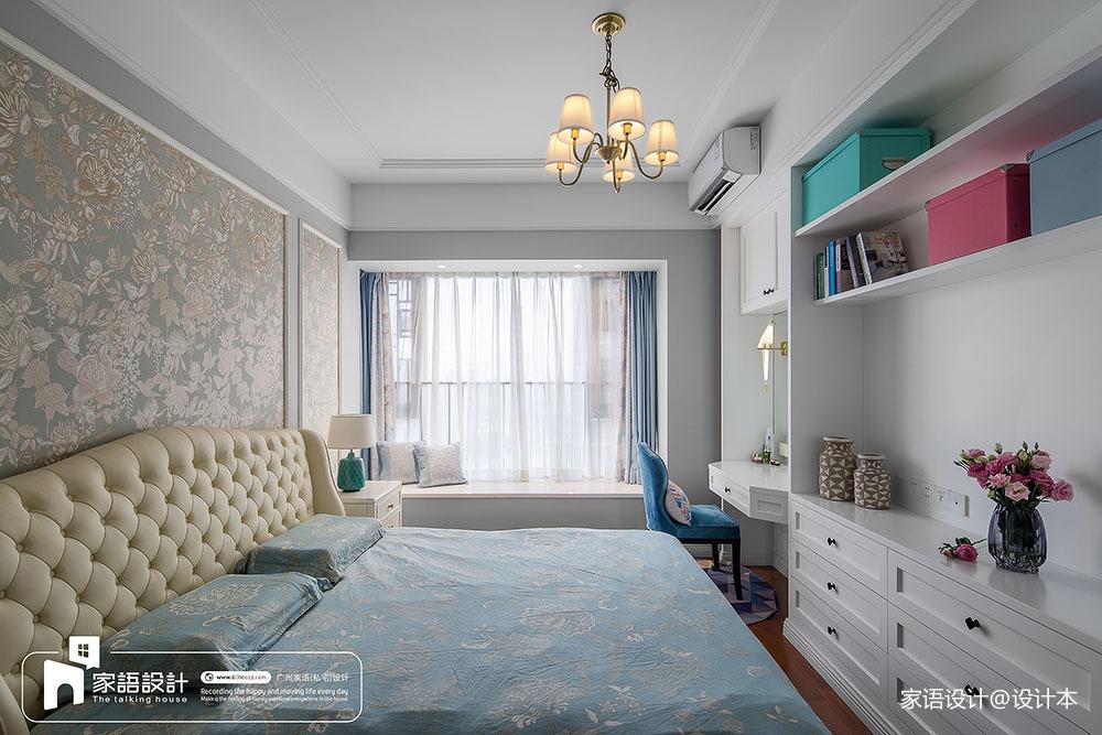 137平米四居卧室中式装修欣赏图