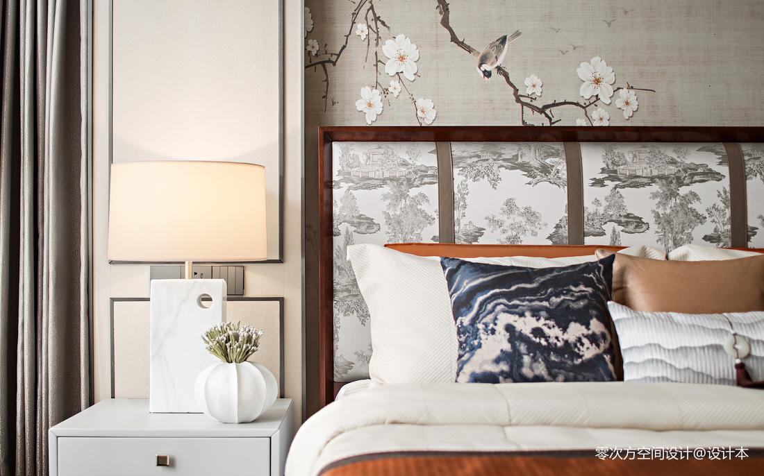 精美卧室中式装修实景图片欣赏