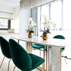 精选74平米二居餐厅现代装饰图片欣赏