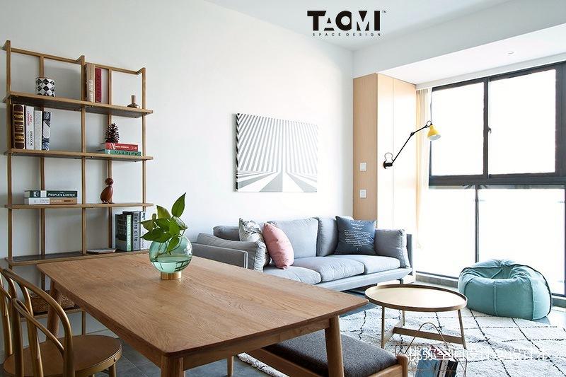 精美大小99平北欧三居客厅装修设计效果图
