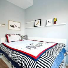 99平米三居卧室北欧装修欣赏图片