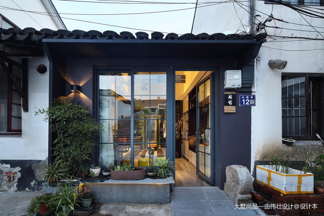 精选88平米中式小户型客厅装修实景图片