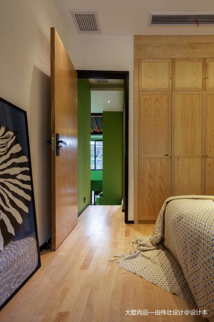 精选面积78平小户型儿童房中式装修图片欣赏