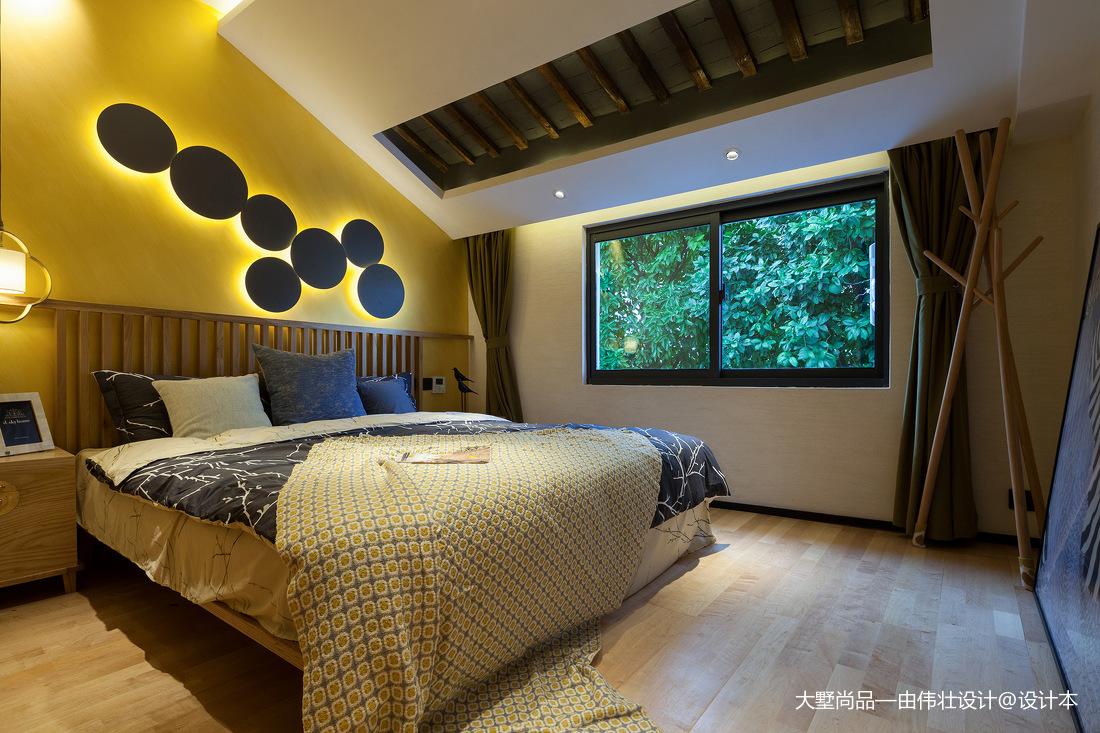 浪漫33平中式小户型儿童房实拍图