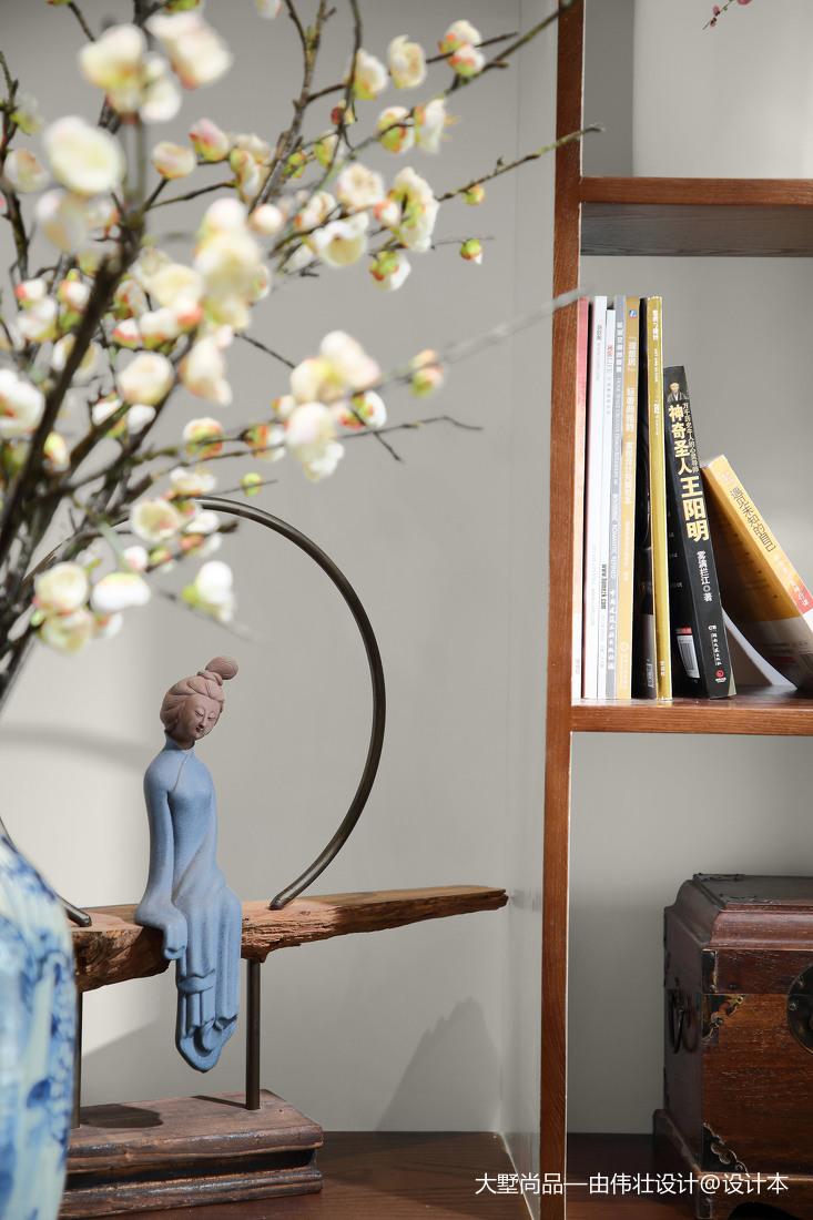 精选面积75平小户型客厅中式装修欣赏图