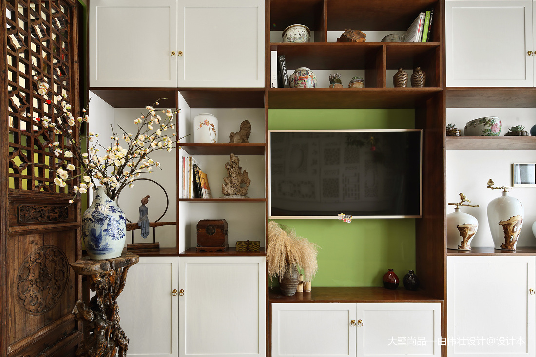 精选小户型客厅中式装修设计效果图片大全
