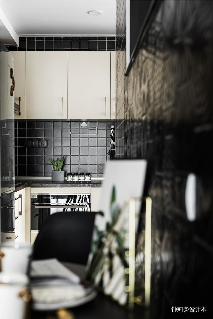 2018面积97平北欧三居厨房效果图