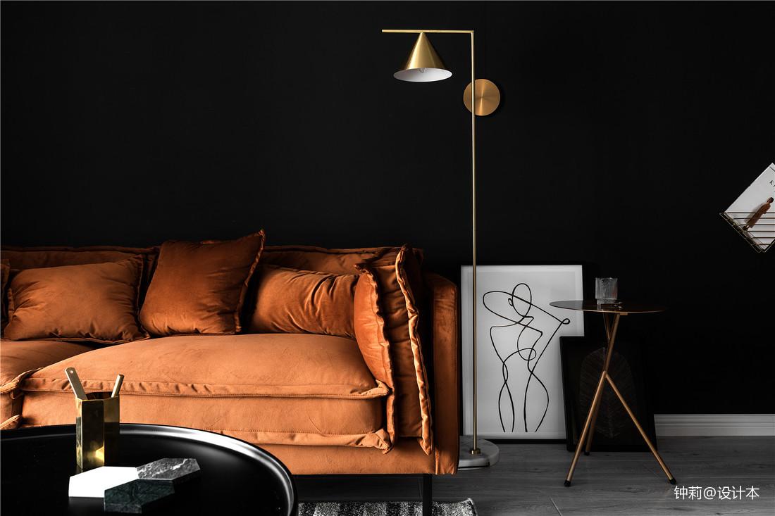 精美107平米三居客厅北欧装修图