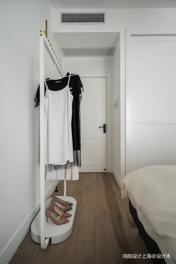 热门89平米二居卧室北欧装修实景图片大全