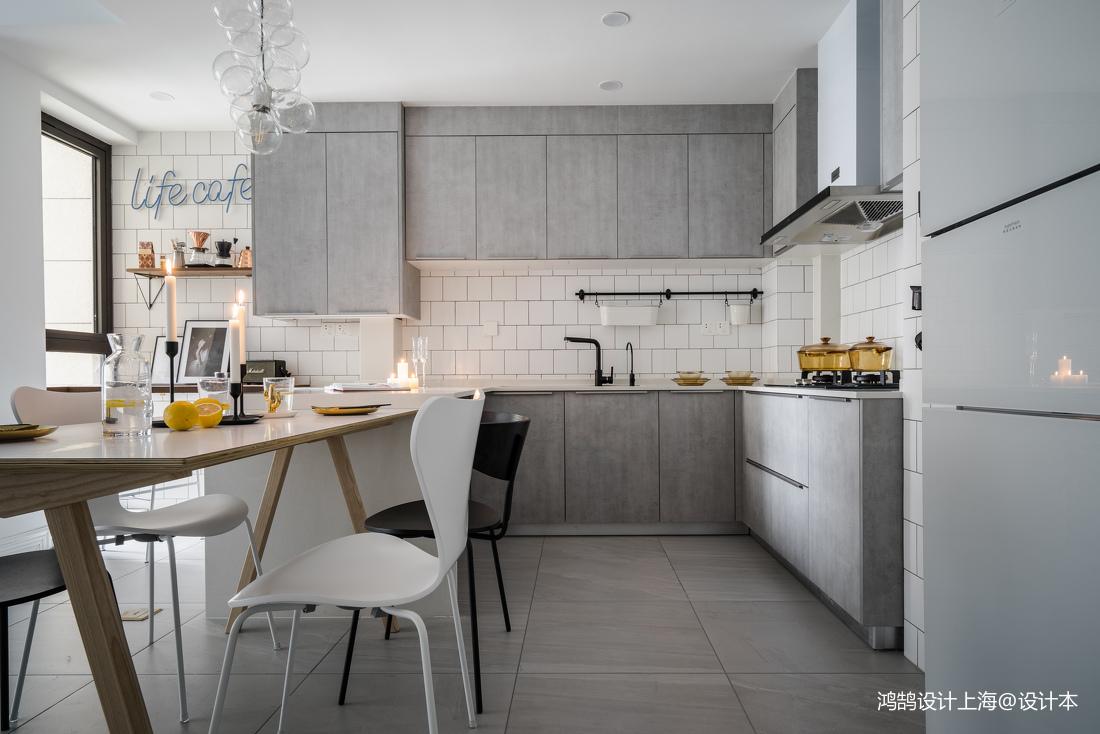 二居厨房北欧装修效果图片