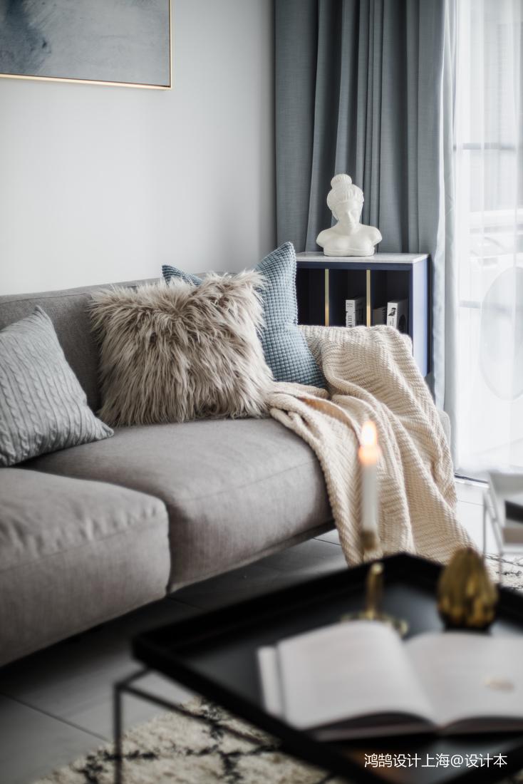 2018二居休闲区北欧装修设计效果图片欣赏