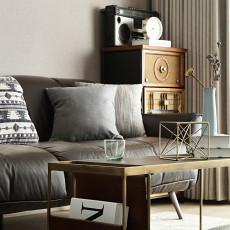 精选面积109平现代三居客厅装修实景图