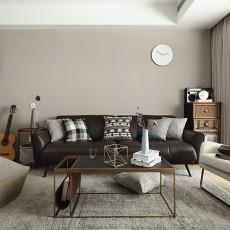 2018精选大小98平现代三居客厅装修实景图片大全