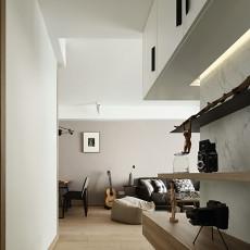 热门面积97平现代三居客厅装修设计效果图片欣赏