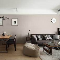 94平方三居客厅现代设计效果图