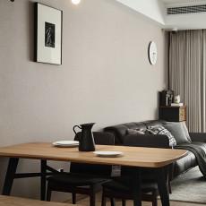 精选面积106平现代三居餐厅装修设计效果图片大全