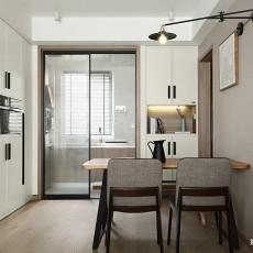 精选101平米三居餐厅现代装修效果图