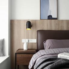 2018面积109平现代三居卧室欣赏图片大全