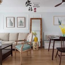 2018精选三居客厅美式装修图