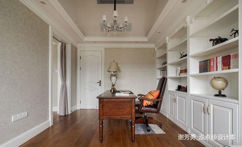 明亮207平美式别墅书房装修案例