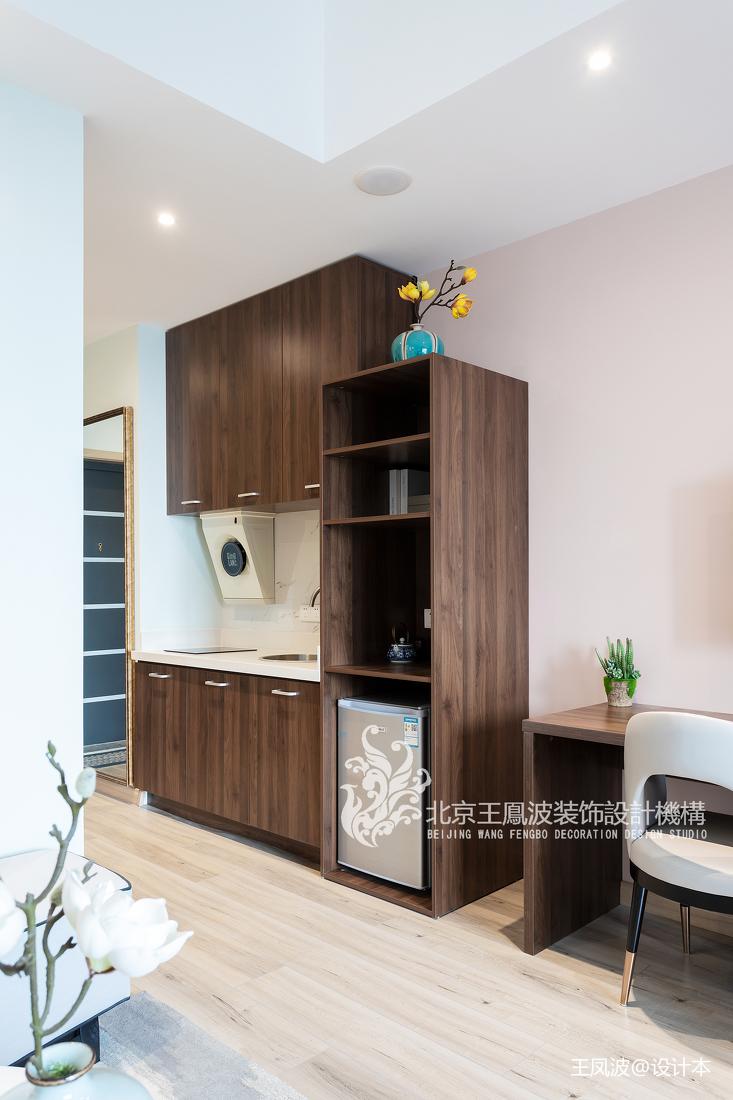 温馨39平新古典小户型卧室实拍图