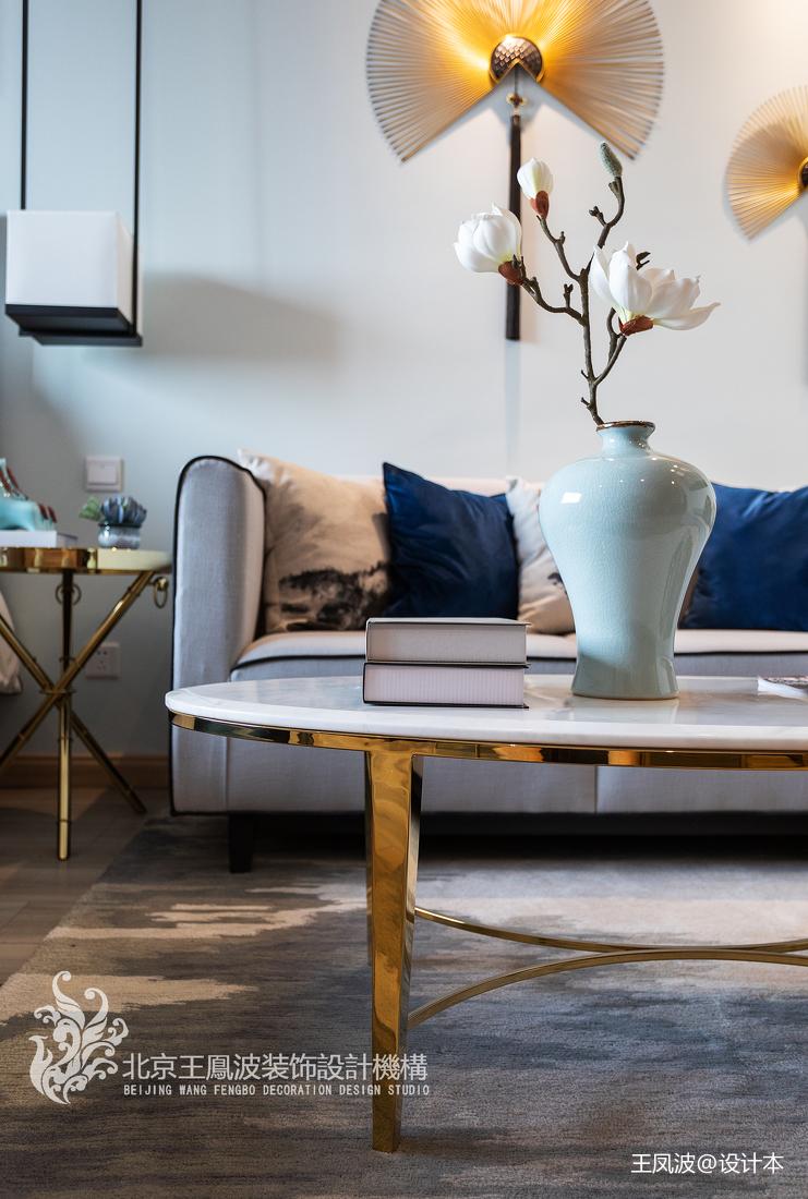 浪漫30平新古典小户型客厅装饰图