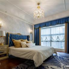 优美125平欧式四居卧室装修案例