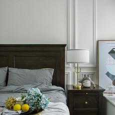 典雅83平美式三居卧室图片欣赏