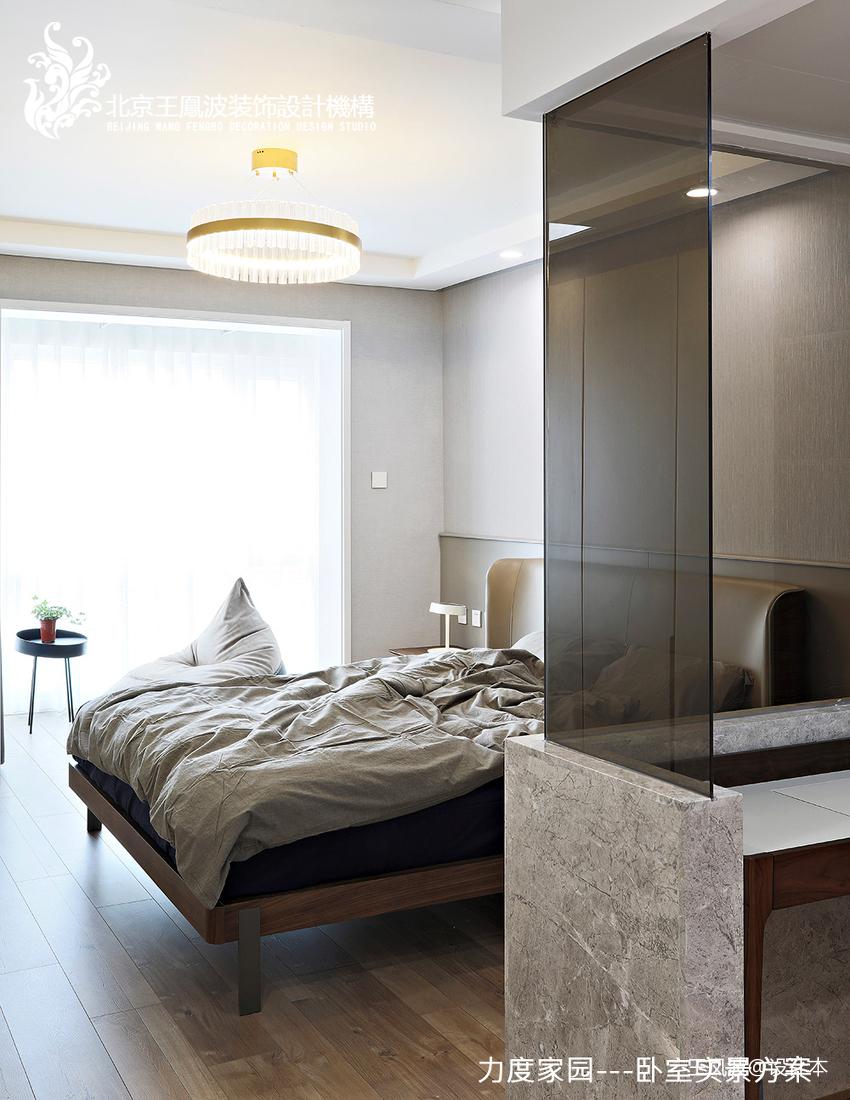 温馨21平现代小户型卧室设计图