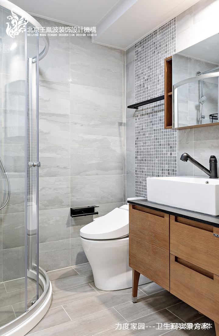 轻奢29平现代小户型卫生间图片大全