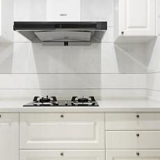 大气84平美式三居厨房图片欣赏