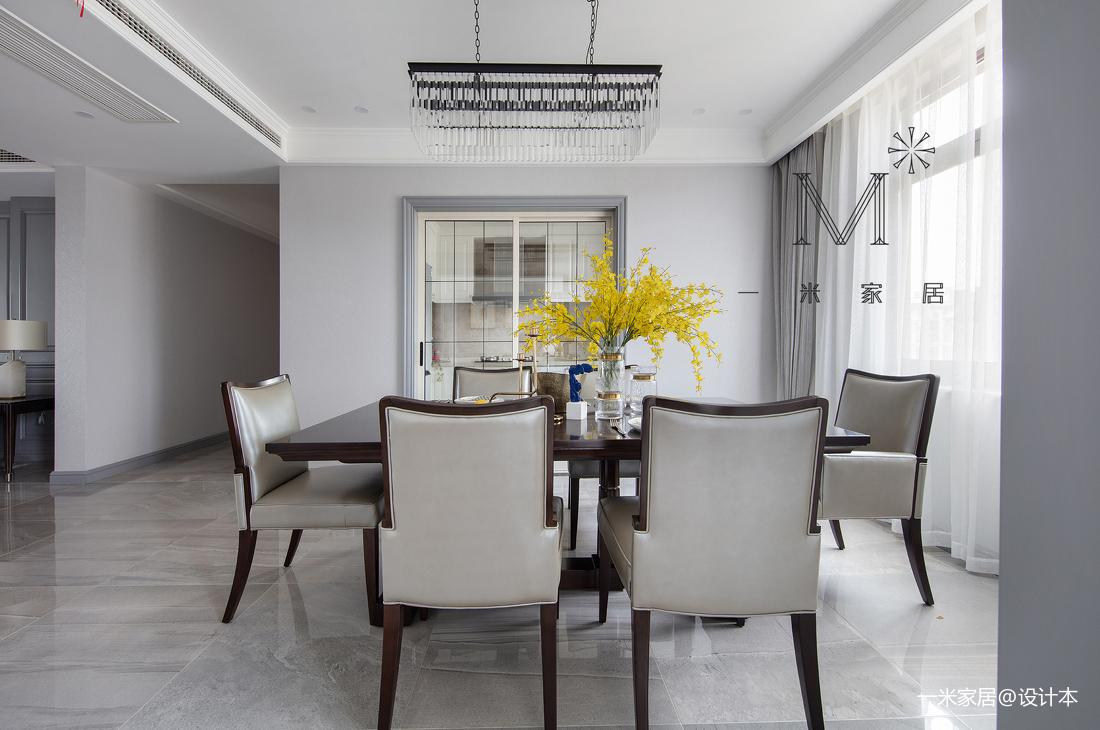 悠雅88平美式三居客厅装修案例