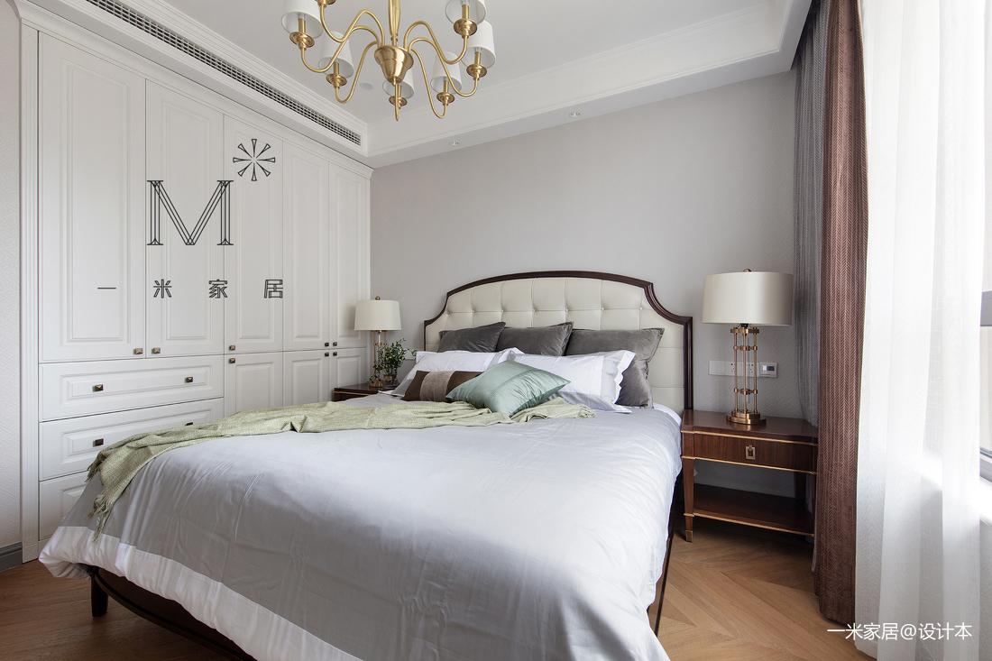 2019127平美式三居客厅装修效果图