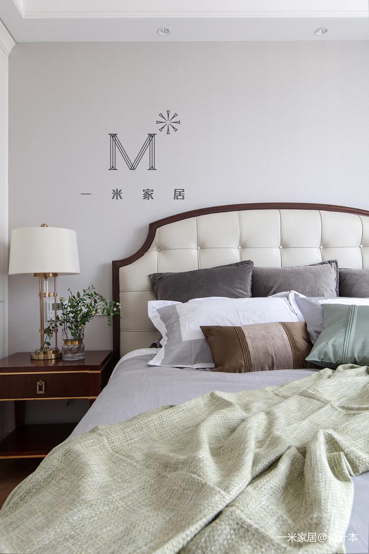 浪漫99平美式三居客厅实拍图