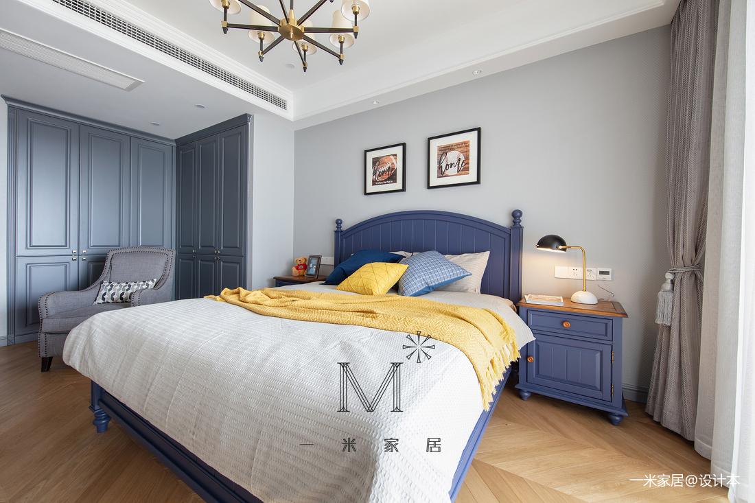 温馨110平美式三居装饰图片
