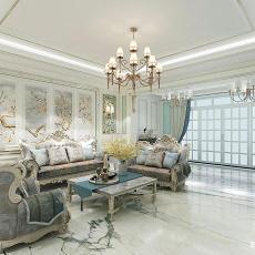 美式客厅壁画