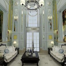 客厅挑高设计