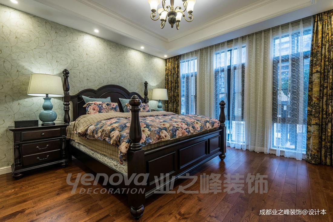 精美57平美式复式卧室效果图欣赏