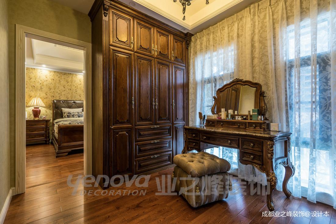 精美49平美式复式卧室装饰图片