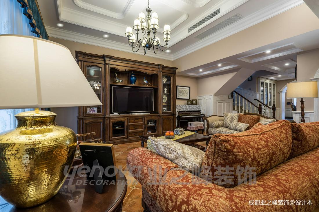 大气46平美式复式客厅设计案例