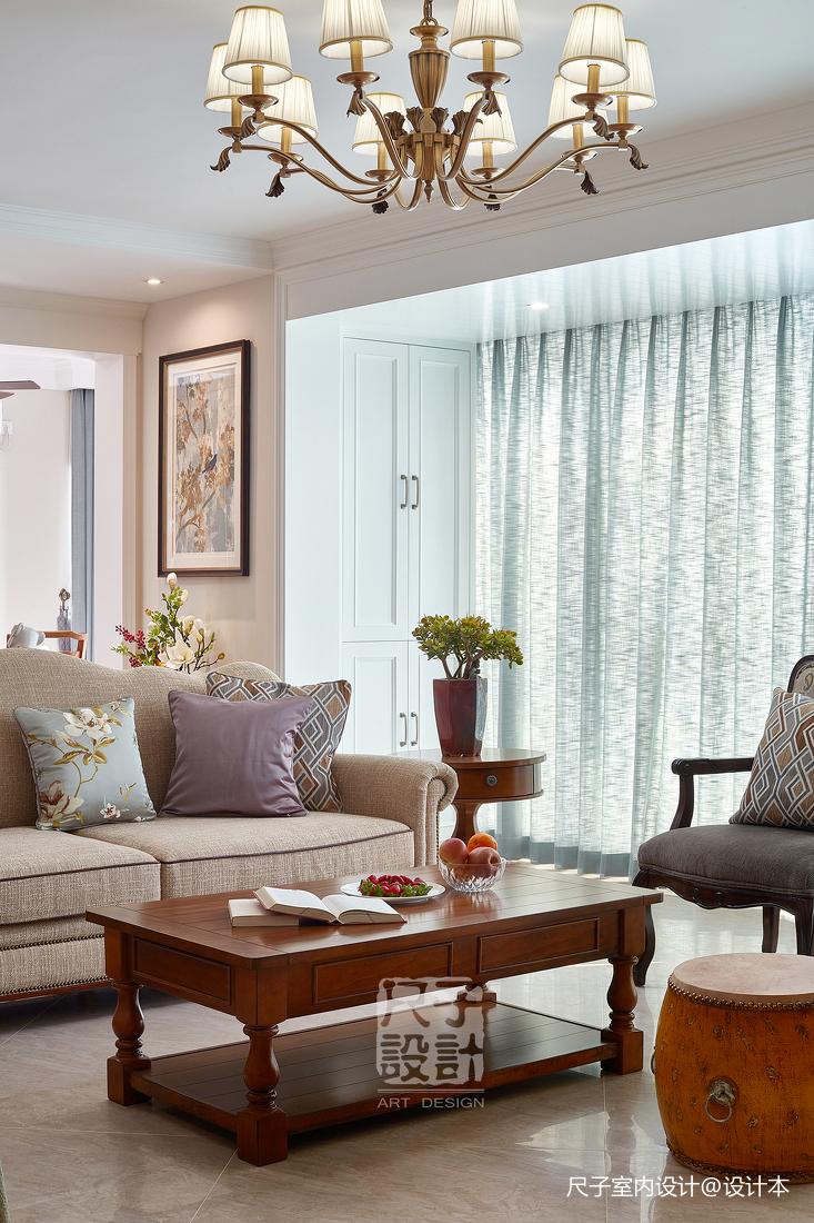 留香岁月美式客厅设计图