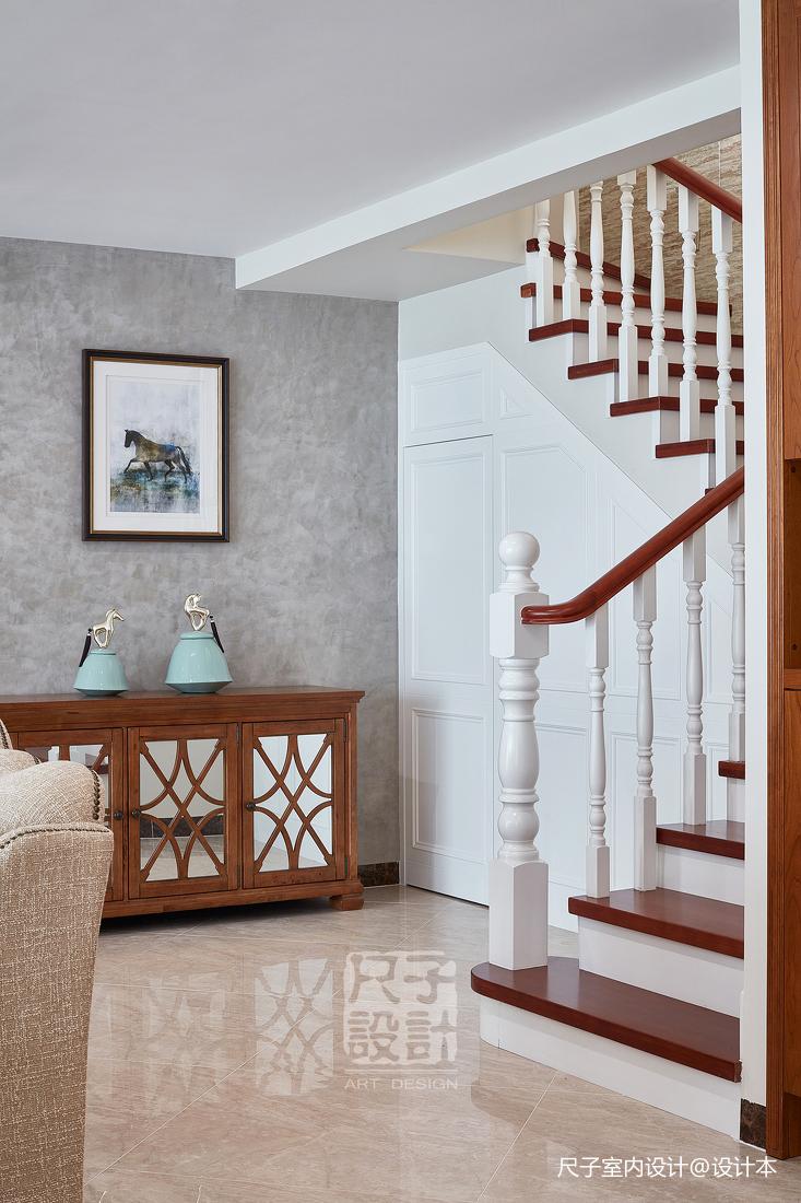 留香岁月美式复式楼梯设计图