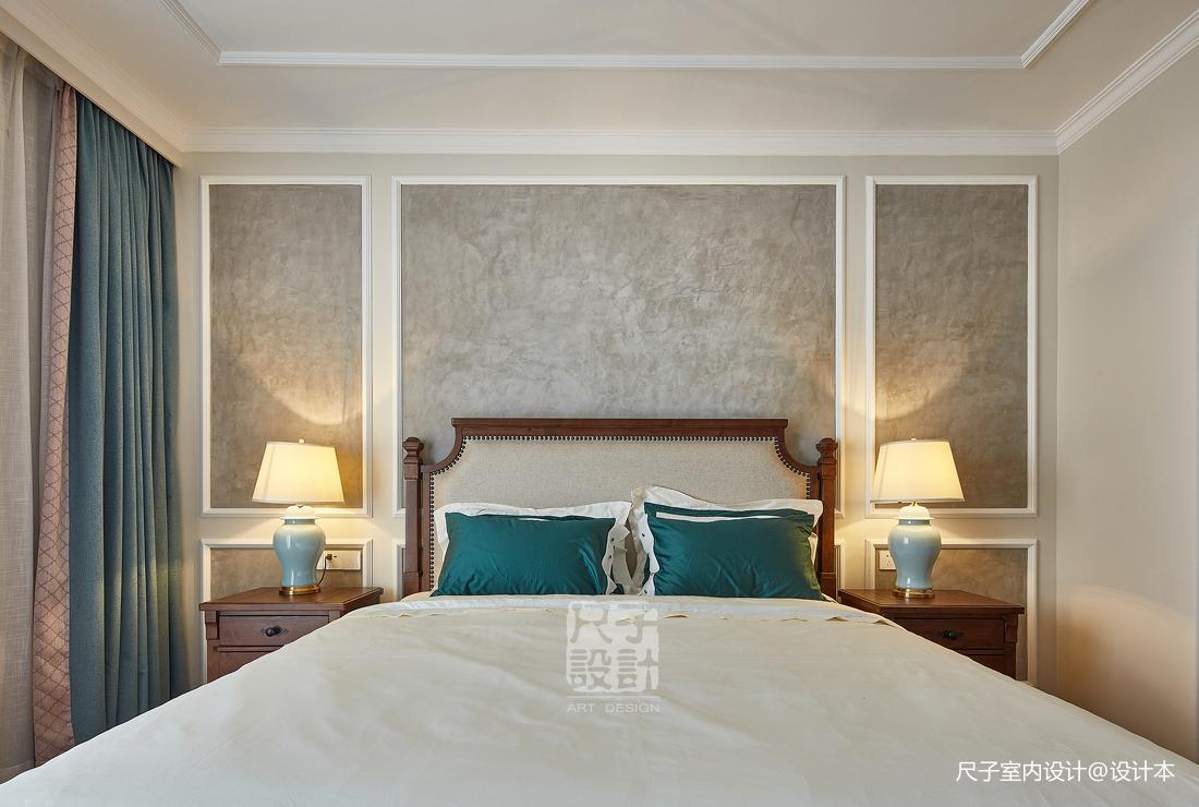 留香岁月美式复式卧室设计图