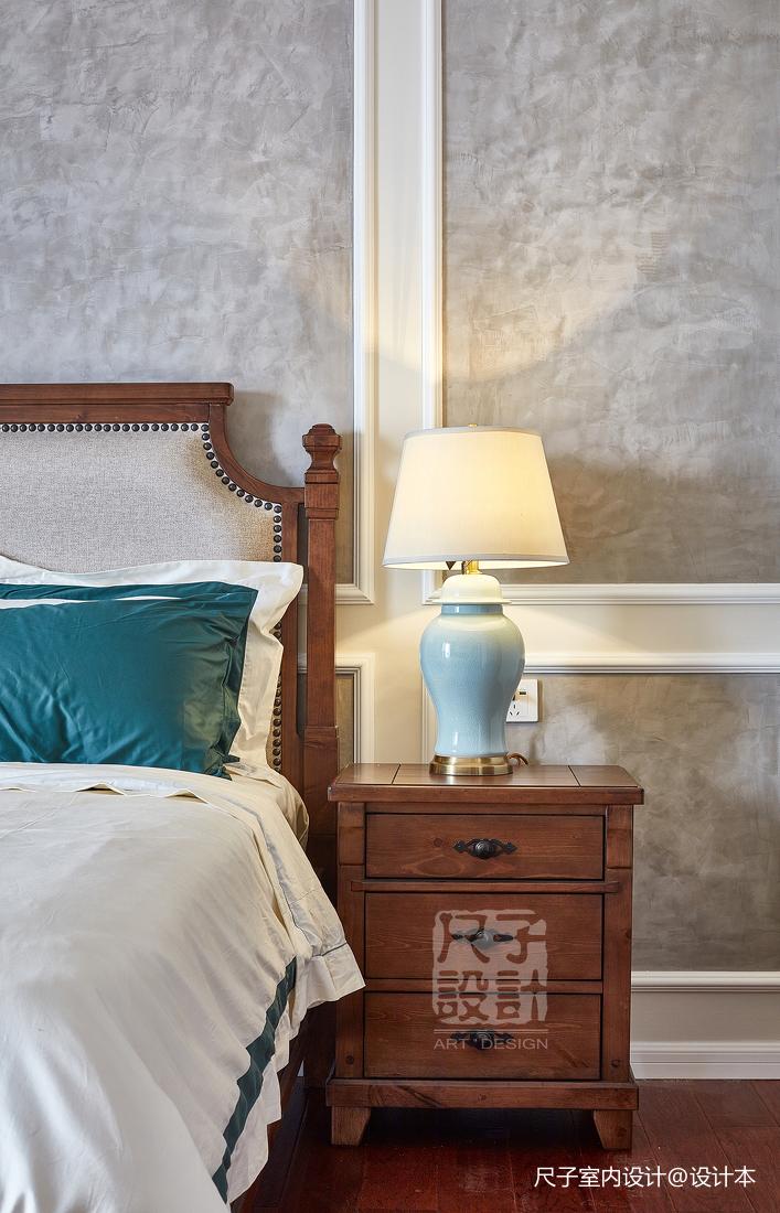 留香岁月美式复式卧室装修设计图