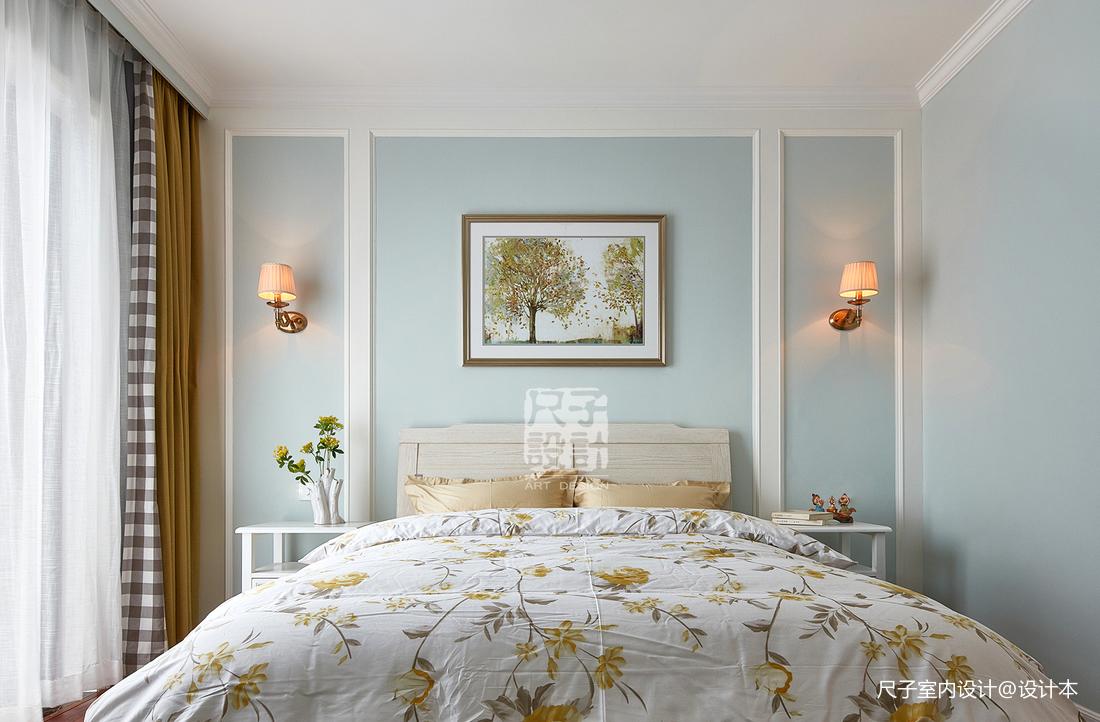 留香岁月美式卧室设计图
