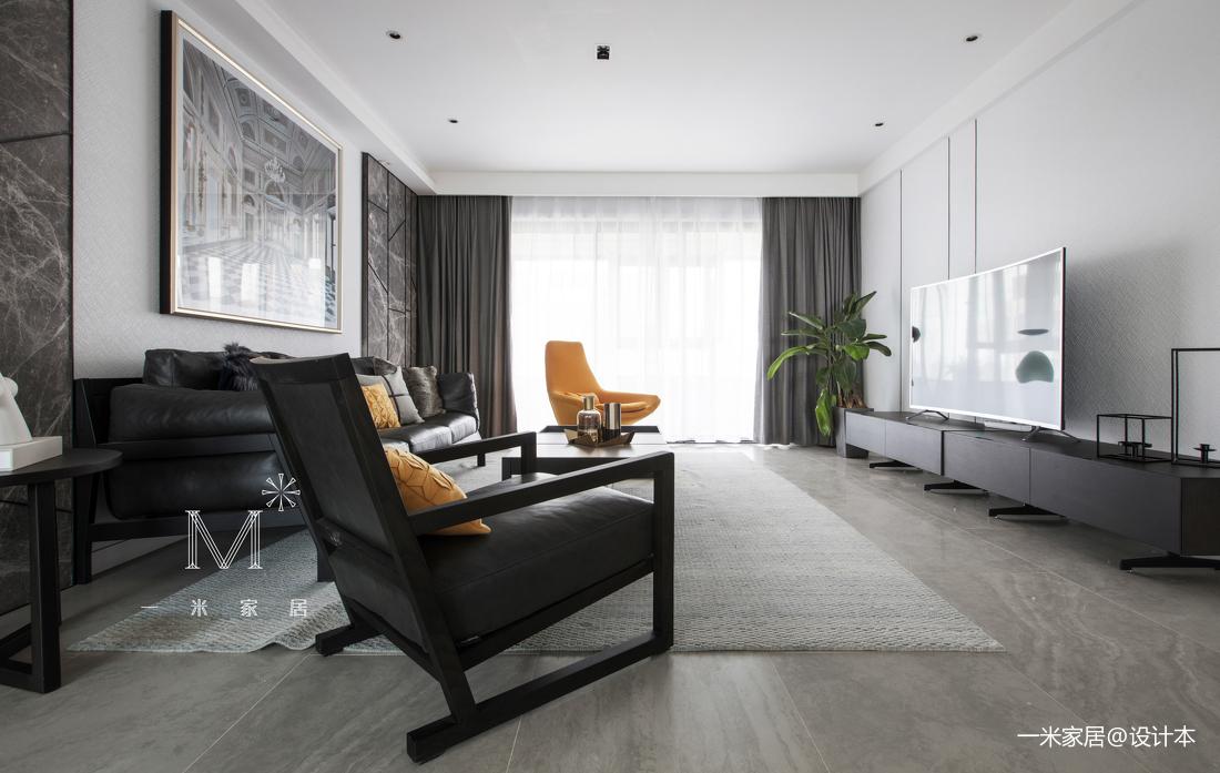 简洁56平现代二居装修效果图