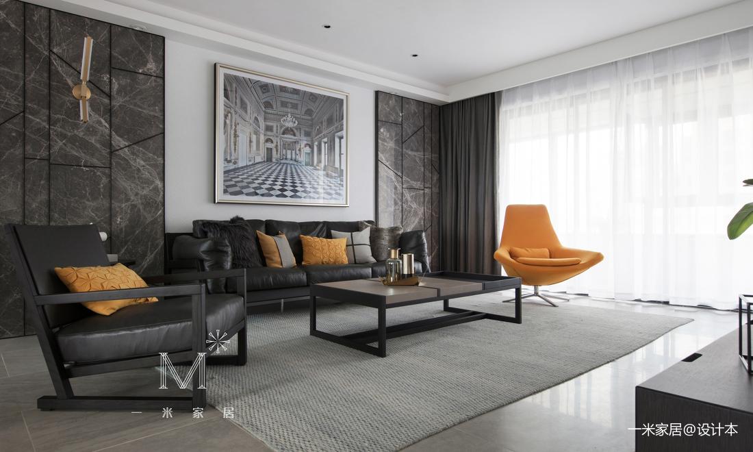 悠雅73平现代二居客厅装修图片